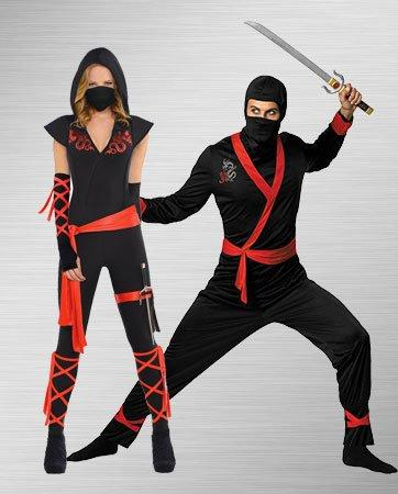 Sexy Ninja Couple